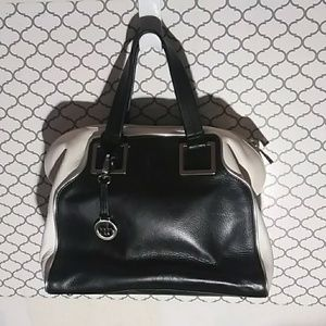 AB handbag (black and white)